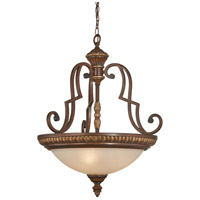 Belcaro 3 Light 22 inch Belcaro Walnut Pendant Ceiling Light