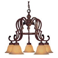 Minka-Lavery Belcaro 5 Light Chandelier in Belcaro Walnut 945-126