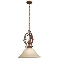 Belcaro 1 Light 18 inch Belcaro Walnut Pendant Ceiling Light