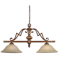 Minka-Lavery Belcaro 2 Light Island Light in Belcaro Walnut 952-126 photo thumbnail