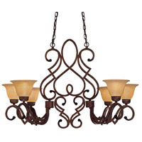 Minka-Lavery Belcaro 6 Light Island Light in Belcaro Walnut 956-126