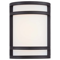 Minka-Lavery Bay View 1 Light Outdoor Lantern in Oil Rubbed Bronze 9801-143-L
