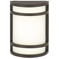 The Great Outdoors by Minka Bay View 1 Light Outdoor Wall in Oil Rubbed Bronze 9801-143
