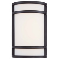 Minka-Lavery Bay View 1 Light Outdoor Lantern in Oil Rubbed Bronze 9802-143-L