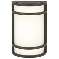 The Great Outdoors by Minka Bay View 1 Light Outdoor Wall in Oil Rubbed Bronze 9802-143-PL