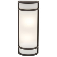 The Great Outdoors by Minka Bay View 2 Light Outdoor Pocket Lantern in Oil Rubbed Bronze 9803-143-PL