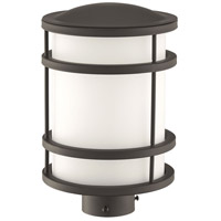 Bay View 1 Light 13 inch Oil Rubbed Bronze Post Mount in GU24