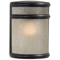 Delshire Point 1 Light 8 inch Corona Bronze Outdoor Pocket Lantern