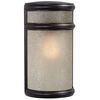 Delshire Point 1 Light 12 inch Corona Bronze Outdoor Pocket Lantern