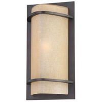 The Great Outdoors by Minka Valencia Bay 1 Light Outdoor Pocket Lantern in Kinston Bronze 9821-298