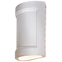 The Great Outdoors by Minka Ceramic 1 Light Sconce in White 9838 photo thumbnail