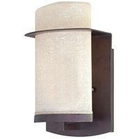 The Great Outdoors by Minka Urban Retreat 1 Light Outdoor Wall Lantern in Kinston Bronze 9841-298