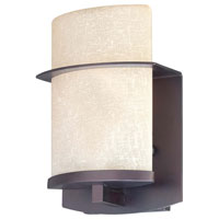 The Great Outdoors by Minka Signature 1 Light Outdoor Wall Lantern in Kinston Bronze 9842-298