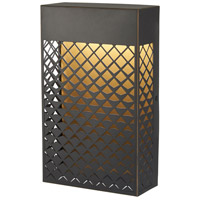 Minka-Lavery 9851-30-L Guild LED 11 inch Matte Gold Outdoor Pocket Lantern Great Outdoors