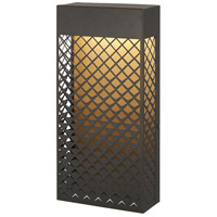 Minka-Lavery 9852-30-L Guild LED 14 inch Matte Gold Outdoor Pocket Lantern Great Outdoors