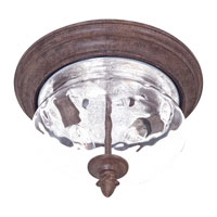 The Great Outdoors by Minka Ardmore 2 Light Flushmount in Vintage Rust 9909-61