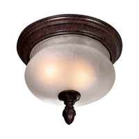 The Great Outdoors by Minka Signature 2 Light Flushmount in Antique Bronze 9909-91
