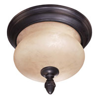 The Great Outdoors by Minka Newport 2 Light Flushmount in Heritage 9909-94-PL