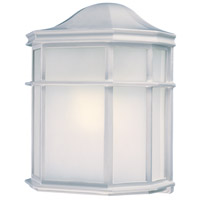 The Great Outdoors by Minka Signature 1 Light Outdoor Wall in White 9920-44-PL