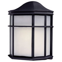The Great Outdoors by Minka Signature 1 Light Outdoor Wall in Black 9920-66-PL