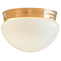 Minka-Lavery F19-7010-22 Signature 2 Light 9 inch Brushed Brass Flush Mounts Ceiling Light