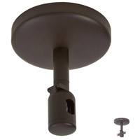 GK Lightrail Sable Bronze Patina Canopy And Low Voltage Power Feed