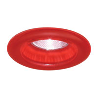 Minka-Lavery Signature 4in Recessed effetre Glass Trim in Red WG500-RR photo thumbnail