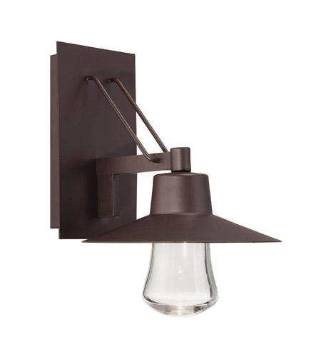 Modern Forms Suspense LED Outdoor Wall Light In Bronze WS W1915 BZ