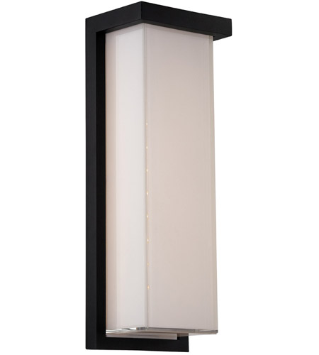 Black Ledge Outdoor Wall Lights