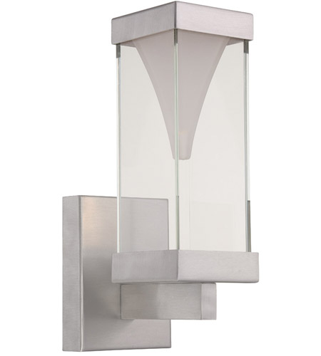 Modern Forms Vortex LED Outdoor Wall Light in Brushed Aluminum WS-W2112-AL photo