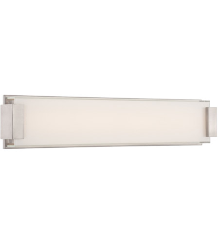 Modern Forms WS-3226-BN Polar LED 26 inch Brushed Nickel Bath Light Wall Light photo