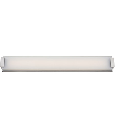 Modern Forms WS-3240-BN Polar LED 40 inch Brushed Nickel Bath Light Wall Light photo