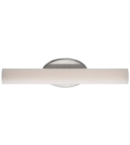 Brushed Nickel Loft Bathroom Vanity Lights
