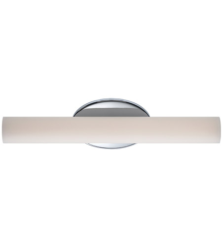 Modern Forms WS-3618-35-CH Loft 1 Light 18 inch Chrome Bath Vanity Wall Light photo thumbnail