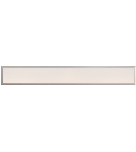 Modern Forms WS-3736-AL Neo LED 36 inch Brushed Aluminum Bath Light Wall Light photo
