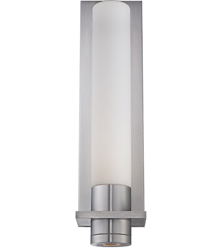 Ada Wall Sconces Led : Modern Forms WS-2818-AL Jedi LED 4 inch Brushed Aluminum ADA Wall Sconce Wall Light