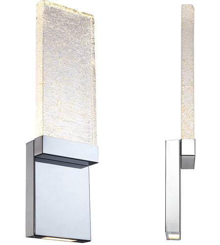Modern Forms WS 12721 CH Glacier LED 6 Inch Chrome ADA Wall Sconce Wall  Light Part 48