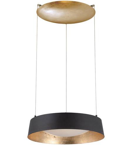 Modern forms pd 51318 gl gilt led 18 inch gold leaf chandelier ceiling light in opulent textured gold leaf aluminum 4h x 18l x 18w x 18d