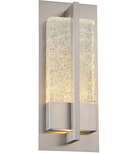 Modern Forms WS-W35516-SS Omni LED 16 inch Stainless Steel Outdoor Wall Light photo