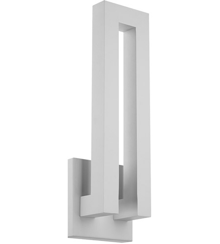 Modern Forms WS-W1724-WT Forq LED 24 inch White Outdoor Wall Light photo