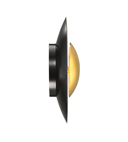Modern Forms WS-30612-GL Blaze LED 12 inch Gold Leaf ADA Wall Sconce Wall Light in 12in. alternative photo thumbnail