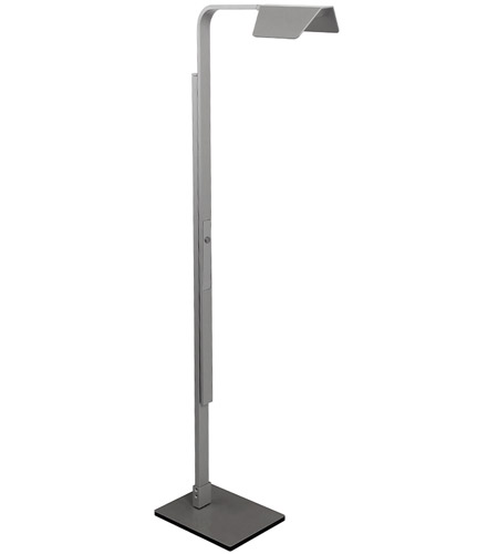 Modern Forms FL-1550-TT Dove 54 inch 10 watt Titanium Floor Lamp Portable Light photo