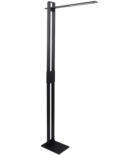 Modern Forms FL-1750-BK Suspension 56 inch 13 watt Black Floor Lamp Portable Light photo