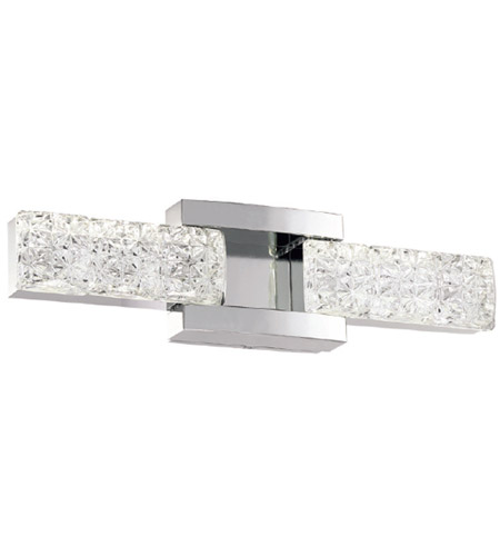 Modern Forms WS-13619-PN Sofia LED 19 inch Polished Nickel Bath Light Wall Light in 19in. photo