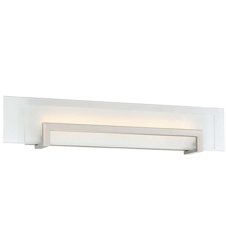 Modern Forms WS-70526-SN Margin LED 26 inch Satin Nickel Bath Light Wall Light in 26in. photo