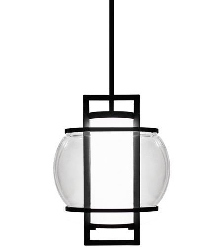 modern forms pdw74615bk lucid led 11 inch black pendant ceiling light photo - Modern Forms Lighting