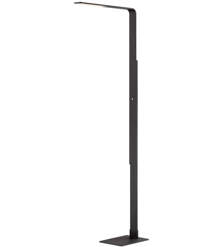 Modern Forms FL-1850-BK Linear 56 inch 12 watt Black Floor Lamp Portable Light photo