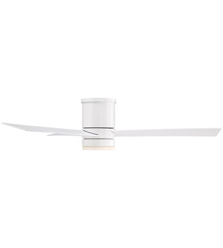 Modern Forms FH-W1803-52L-35-MW Axis 52 inch Matte White Ceiling Fan in 3500K alternative photo thumbnail