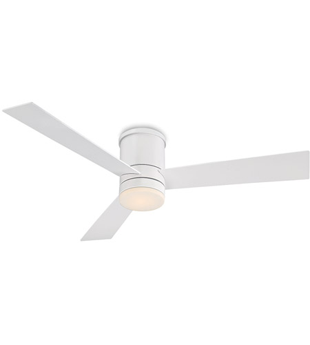 Modern Forms Fh W1803 52l Mw Axis 52 Inch Matte White Ceiling Fan Flush Mounted