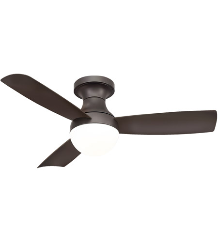 Modern Forms FH-W1807-44L-27-BZ Aloft 44 inch Bronze Flush Mount Indoor  Outdoor Smart Ceiling Fan